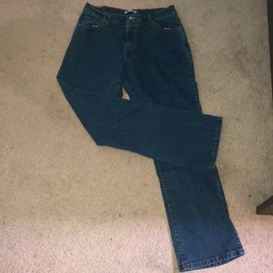 Levi Relaxed Bootcut Blue Jeans